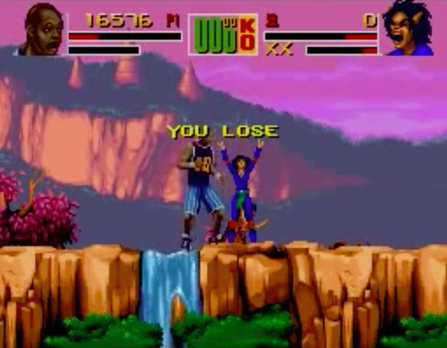 Shaq Fu Lose
