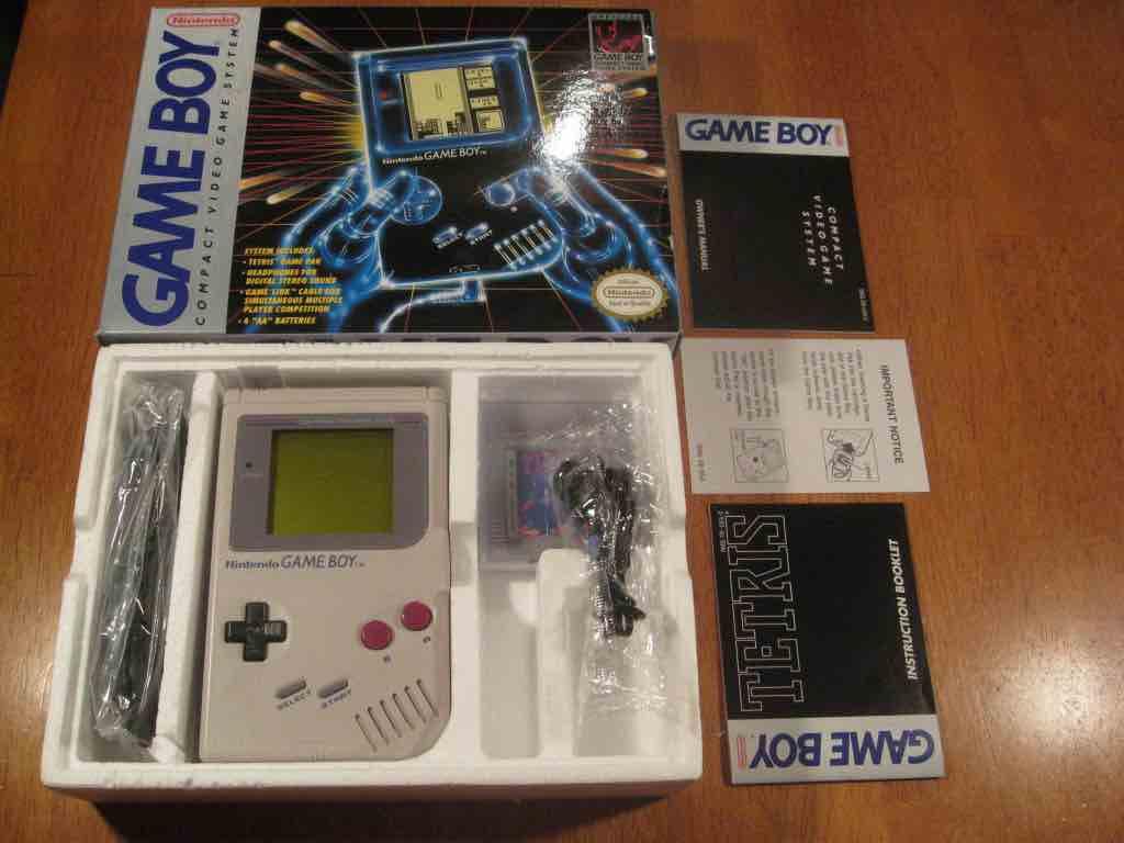 Game Boy With Tetris
