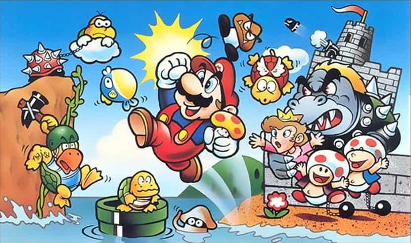 Mario Bros Banner