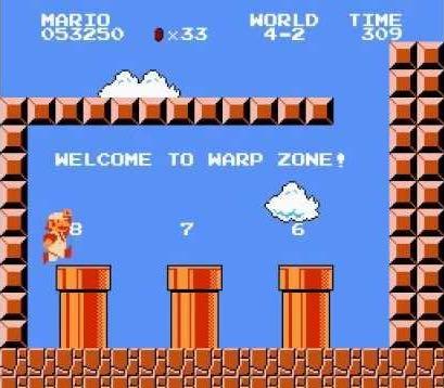 Mario Warp 2