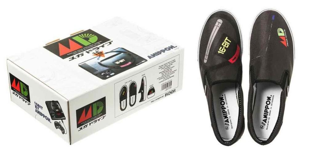 Mega Drive Shoes & Box