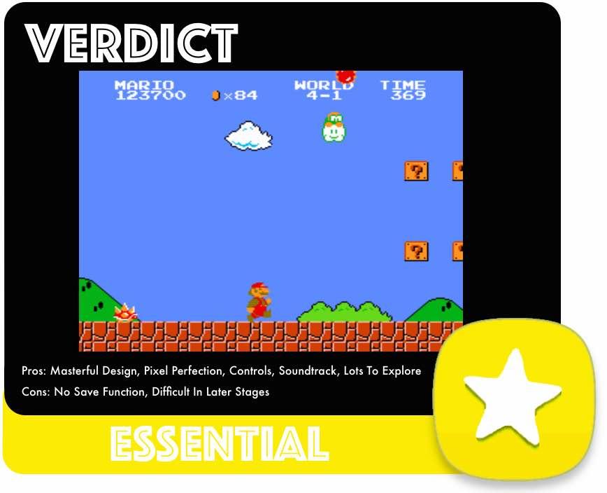 Super Mario Bros Score