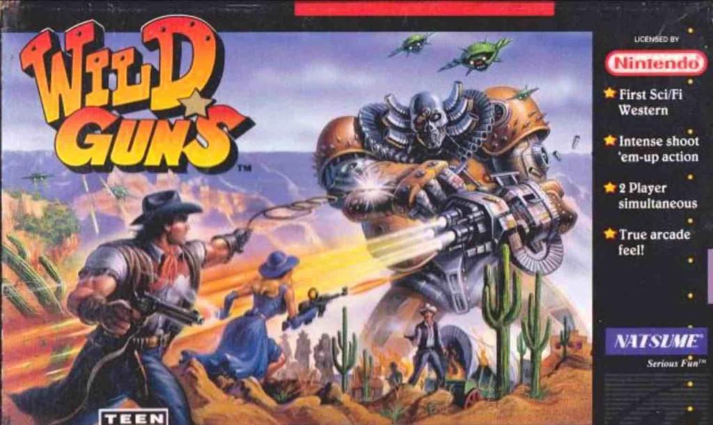 Wild Guns Box