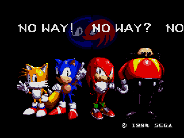 Sonic No Way
