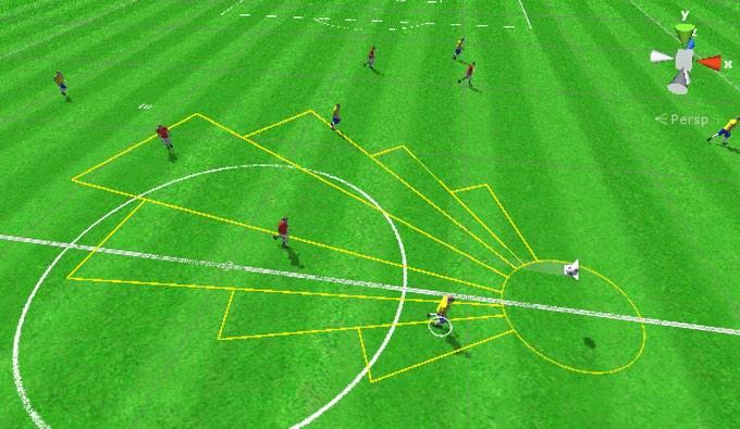 Sociable Soccer Concept Footage