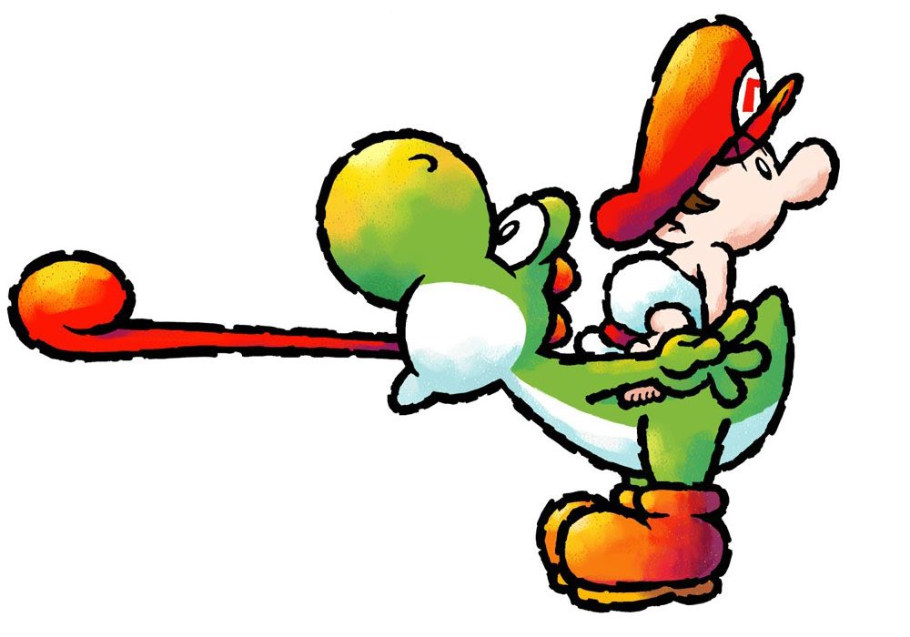 Yoshi & Baby Mario
