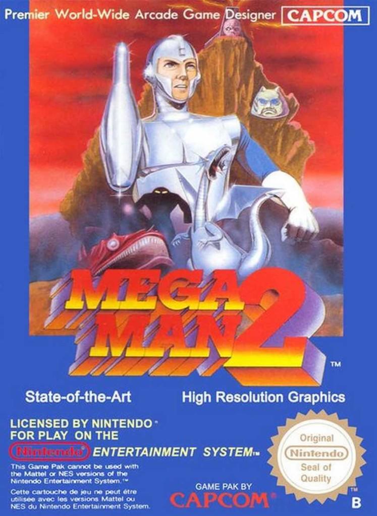 Mega Man 2 EU Cover
