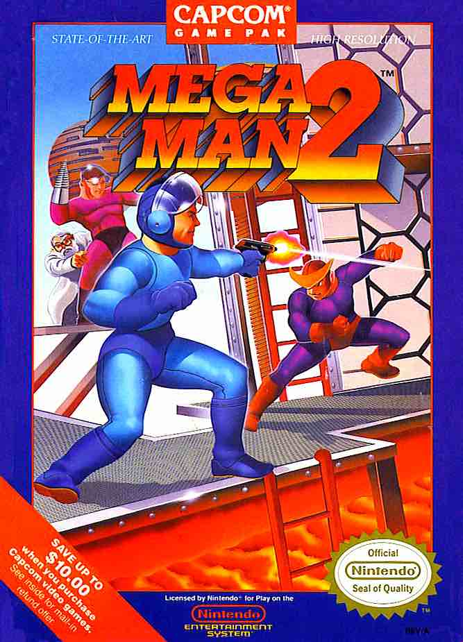 Mega Man 2 NA