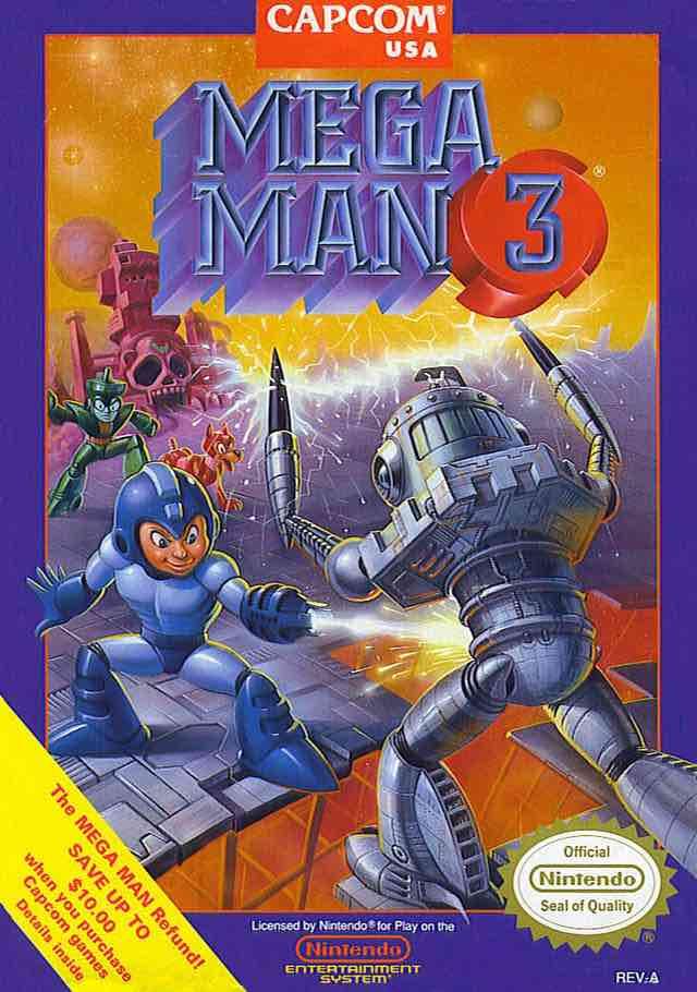 Mega Man 3 NA
