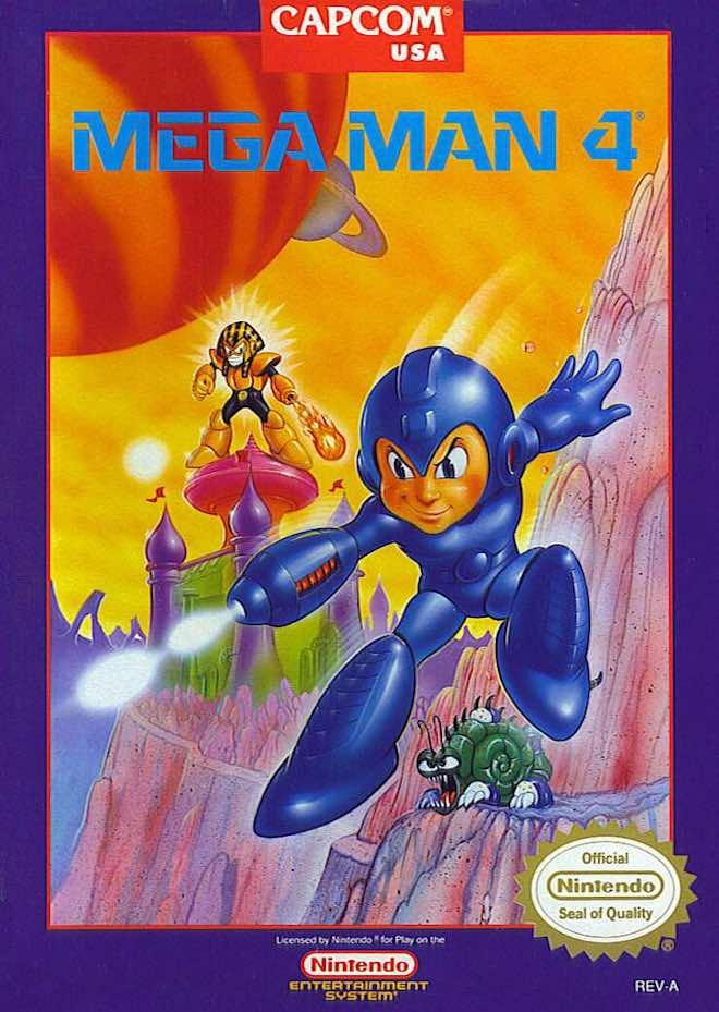 Mega Man 4 NA