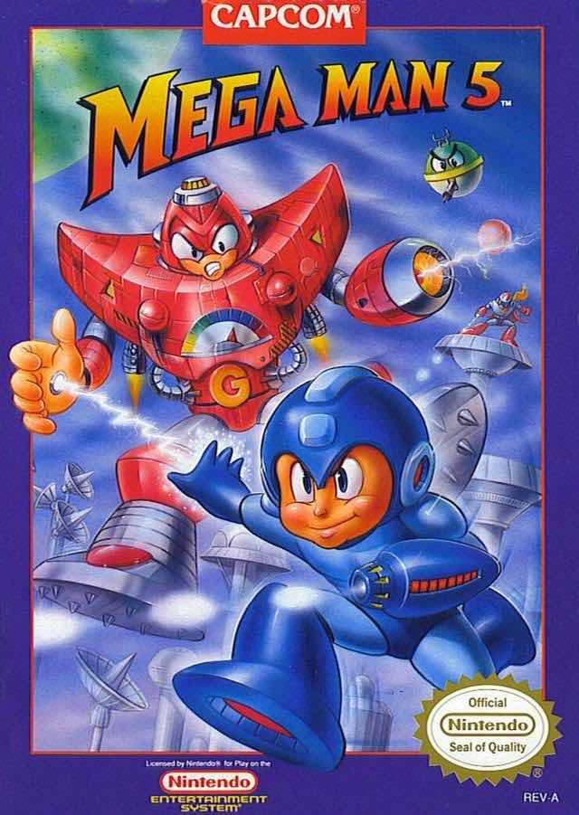 Mega Man 5 NA