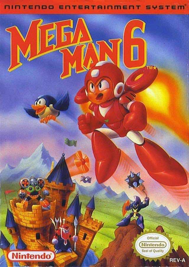 Mega Man 6 NA