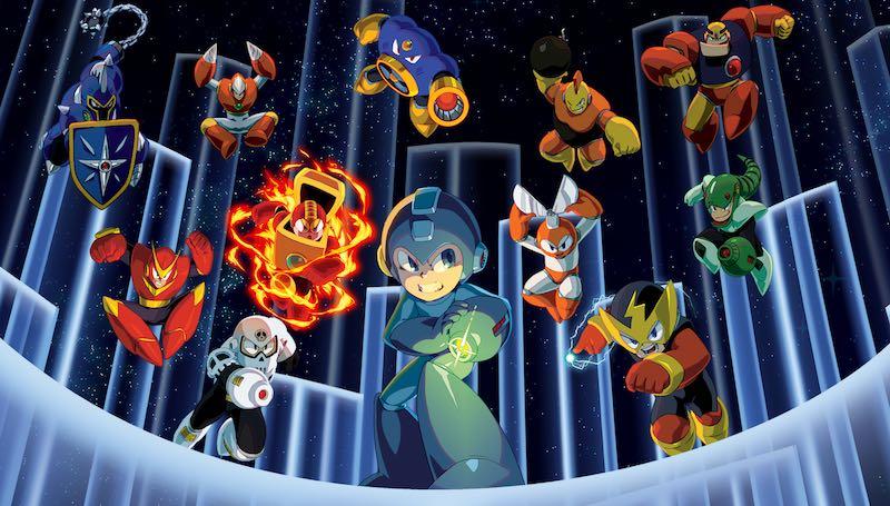Mega Man Legacy Banner