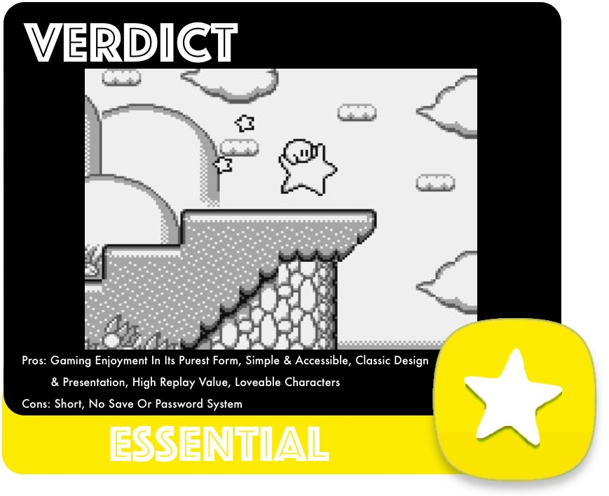 Kirby's Dream Land Verdict