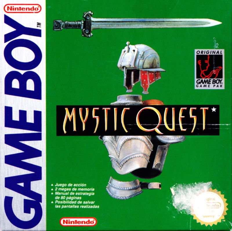 Mystic Quest Box