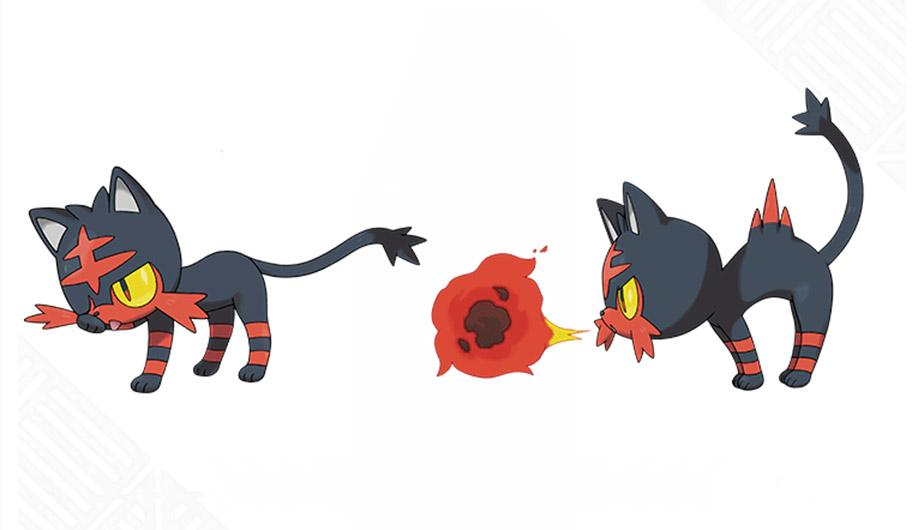 Litten Fire Attack