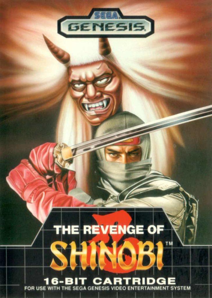 Revenge of Shinobi Box