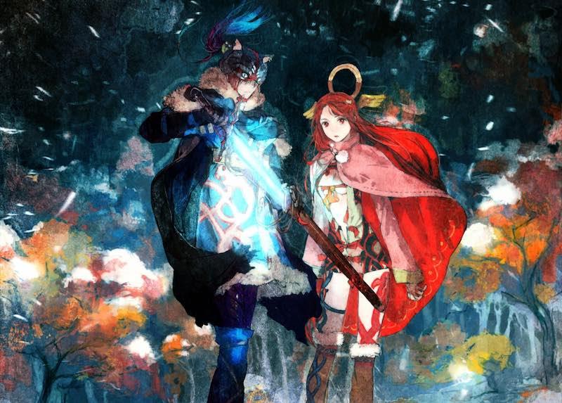 I Am Setsuna Character Art