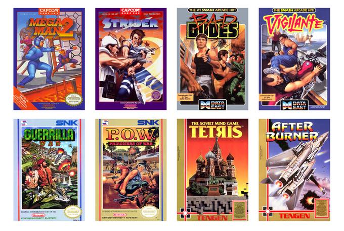 Marc Ericksen NES Covers