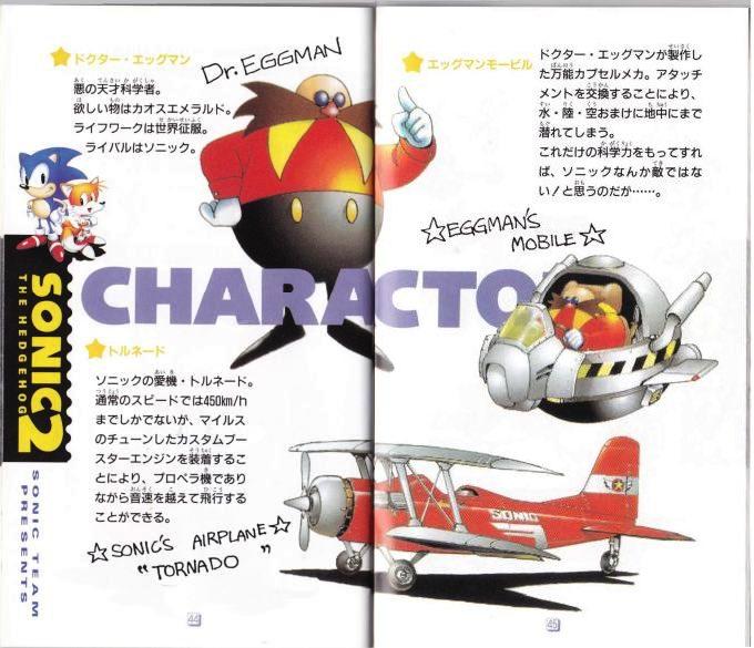 Dr. Eggman Sonic 2 Manual