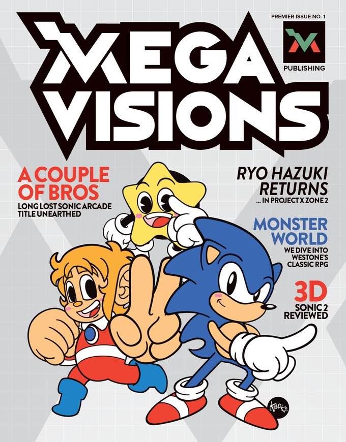Mega Visions Issue 0