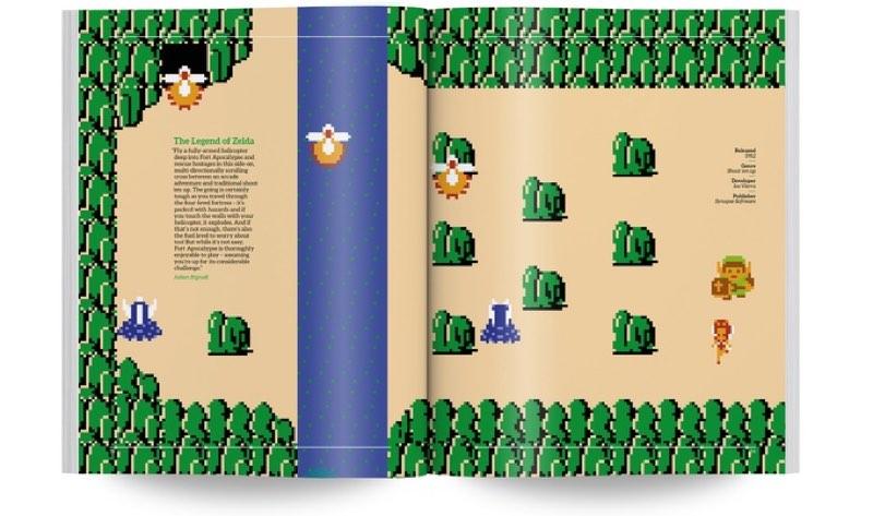 NES Visual Compedium Zelda