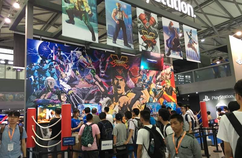 Street Fighter V ChinaJoy