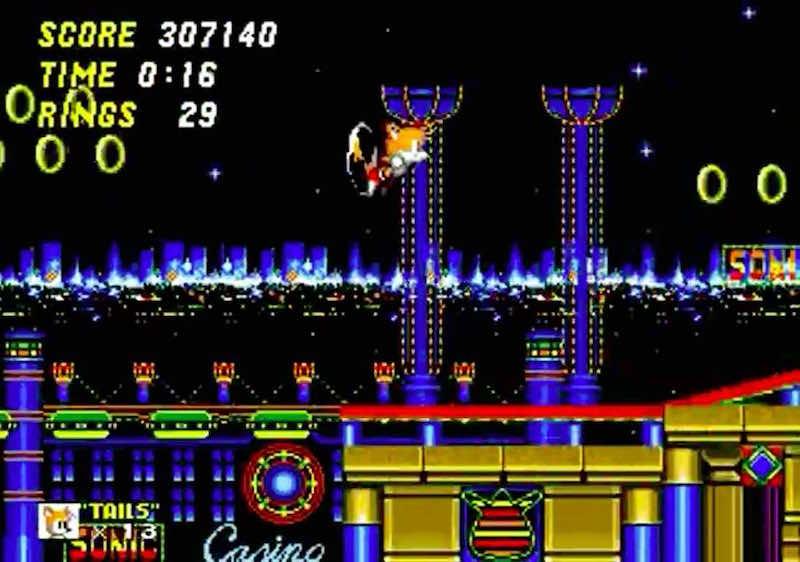 Tails Casino Night