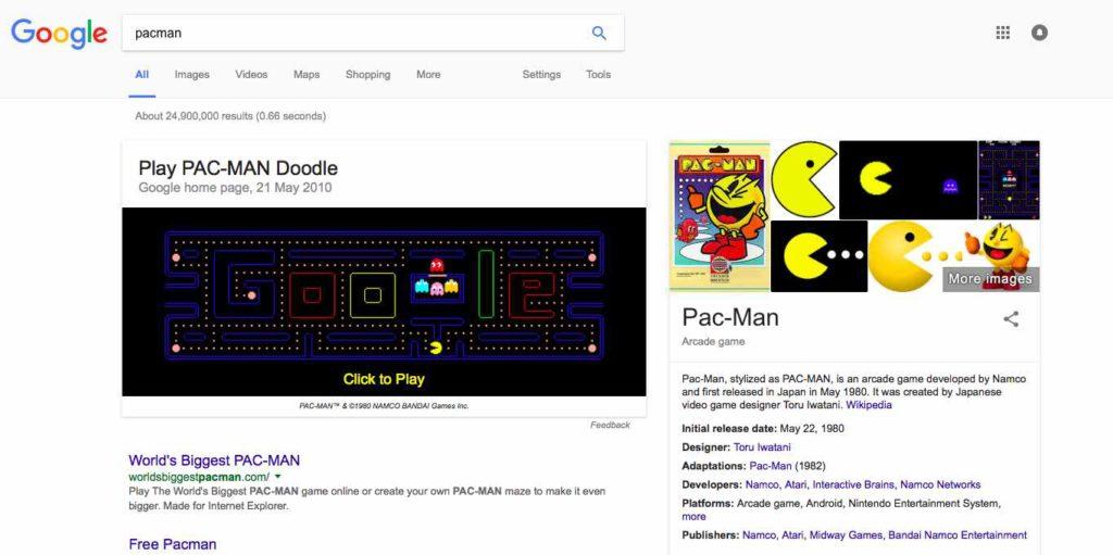 pac-man-google