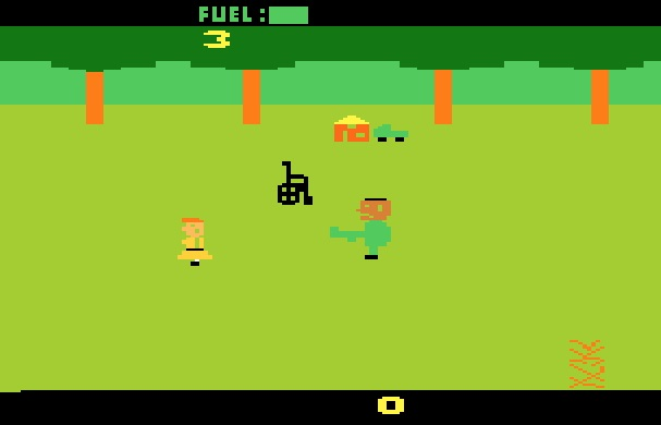 Texas Chainsaw Massacre Atari Gameplay