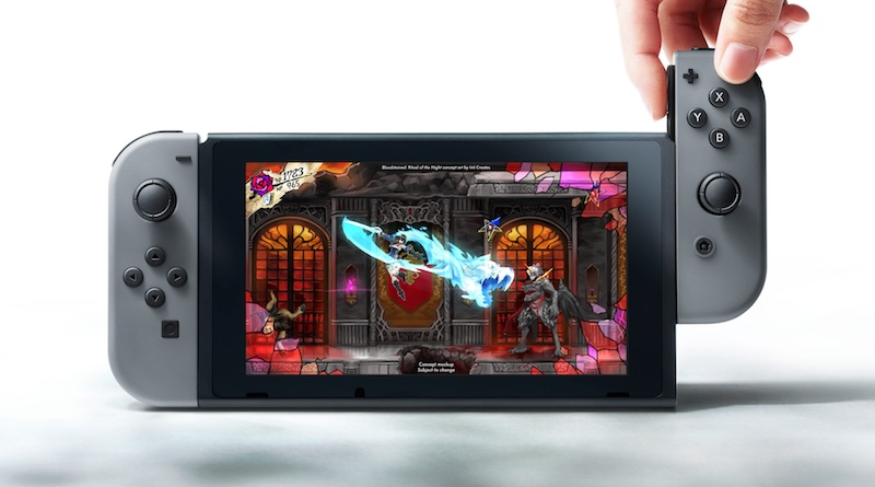 Bloodstained Wii U Cancelled Banner