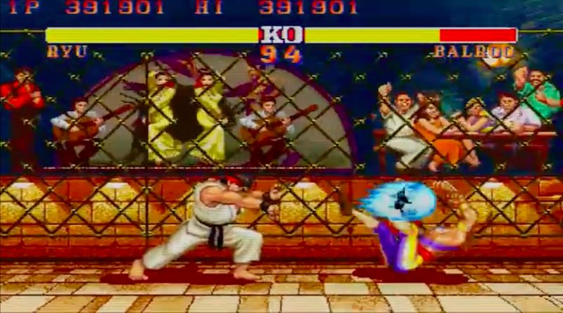 New Street Fighter II Combos Banner