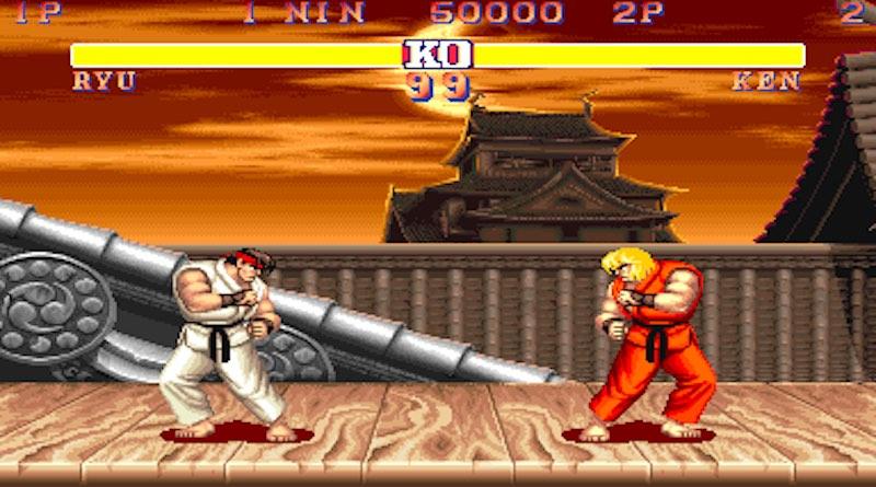 Street Fighter II Ryu Vs Ken