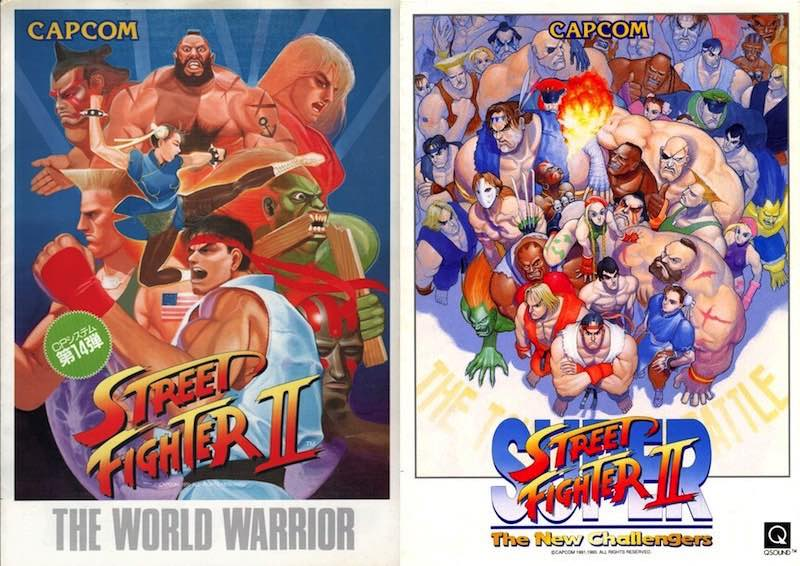 Retrovision Brand New Street Fighter Ii Combos Uncovered Rings