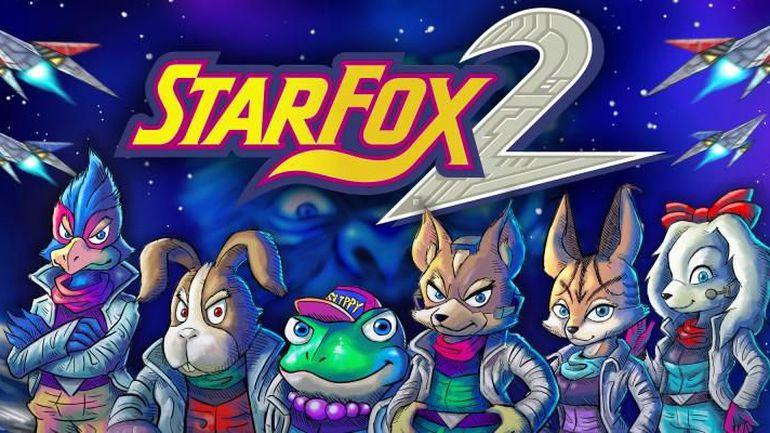 SNES Mini Star Fox 2