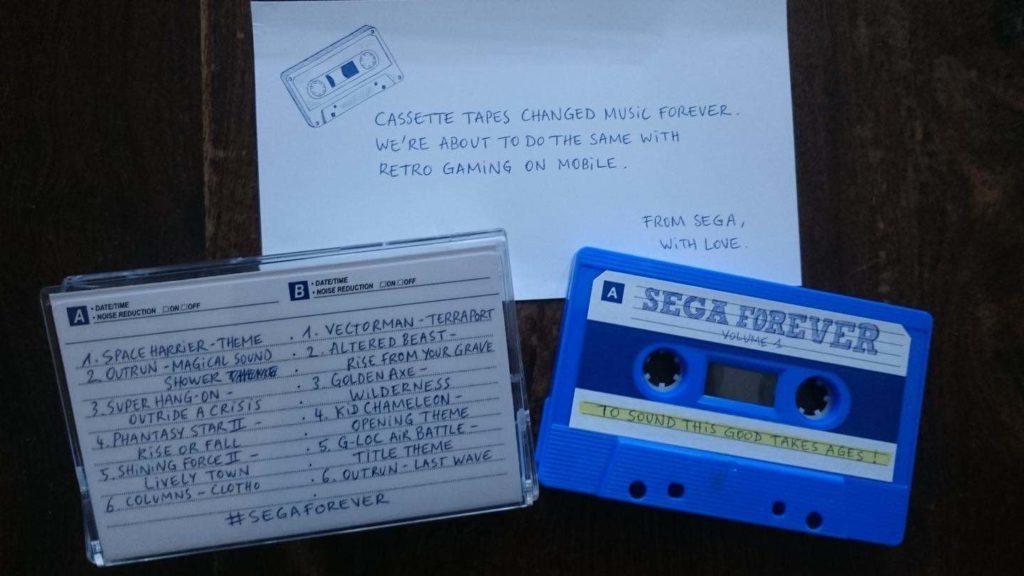 Sega Forever Casette