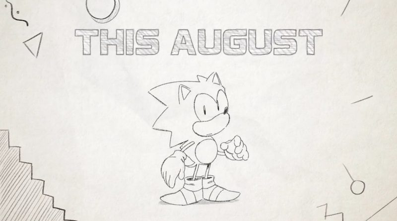 Sonic Mania August Banner
