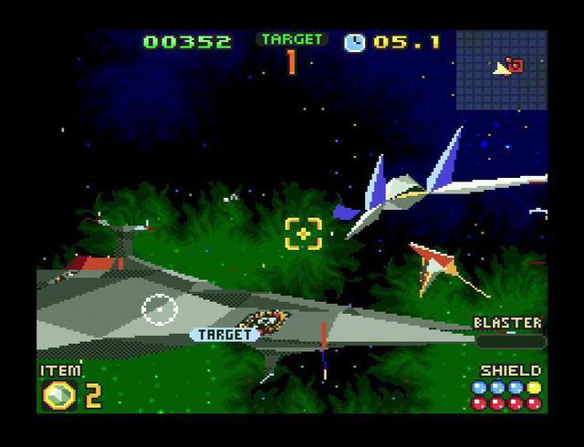 Star Fox 2 Graphics