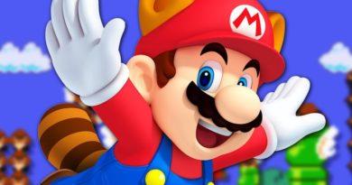 Super Mario Not a Plumber Banner