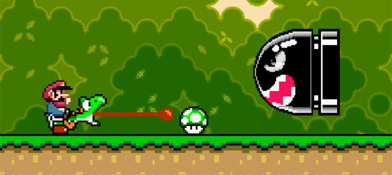 Super Mario not a plumber retro