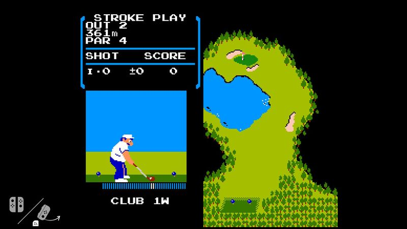 NES Golf Nintendo Switch 3