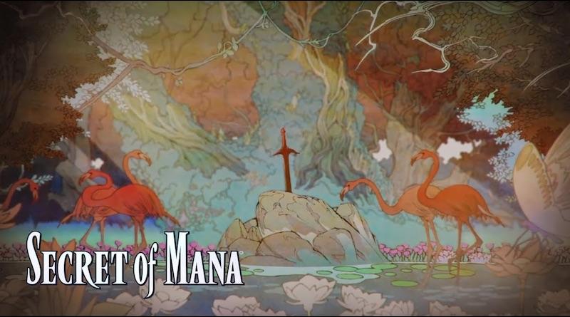 Secret of Mana Remake Opening Movie Banner