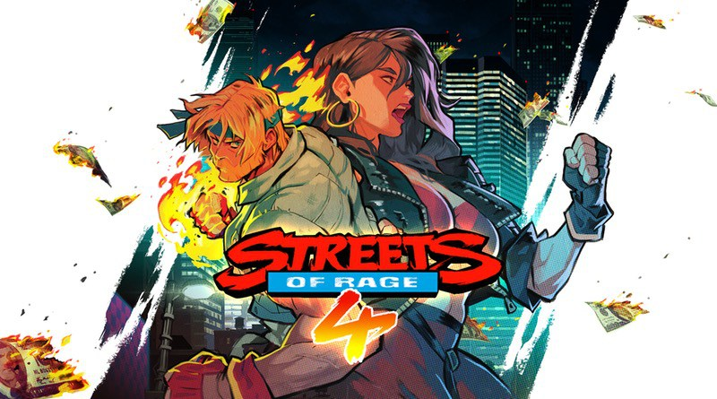 Streets of Rage 4 Banner